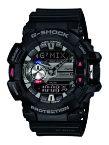 G-Shock GBA-400-1AER Mens Black Strap Watch