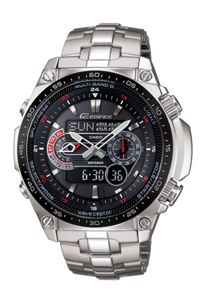 Edifice ECW-M300EDB-1AER silver mens watch