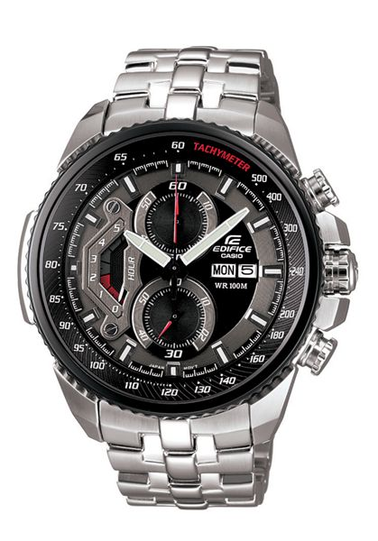 Edifice Edifice EF-558D-1AVEF silver mens watch
