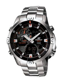Edifice EMA-100D-1A1VEF silver mens watch
