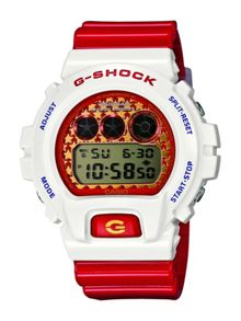DW-6900SC-7ER Unisex Red Strap Watch
