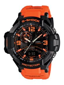G-Shock G-Shock GA-1000-4AER orange sports mens watch