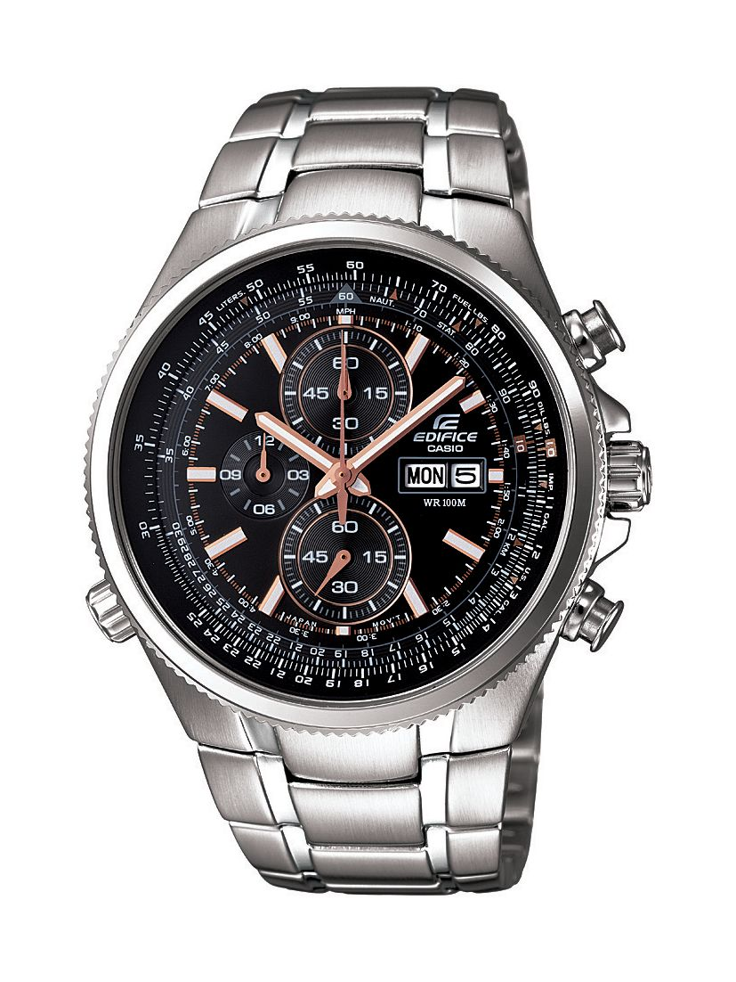 Edifice EFR-506D-1AVEF silver mens watch
