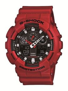G-Shock G-Shock GA-100B-4AER red sports mens watch