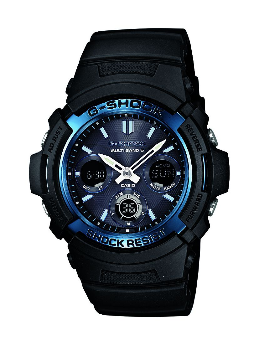 G-Shock AWG-M100A-1AER black sports mens watch