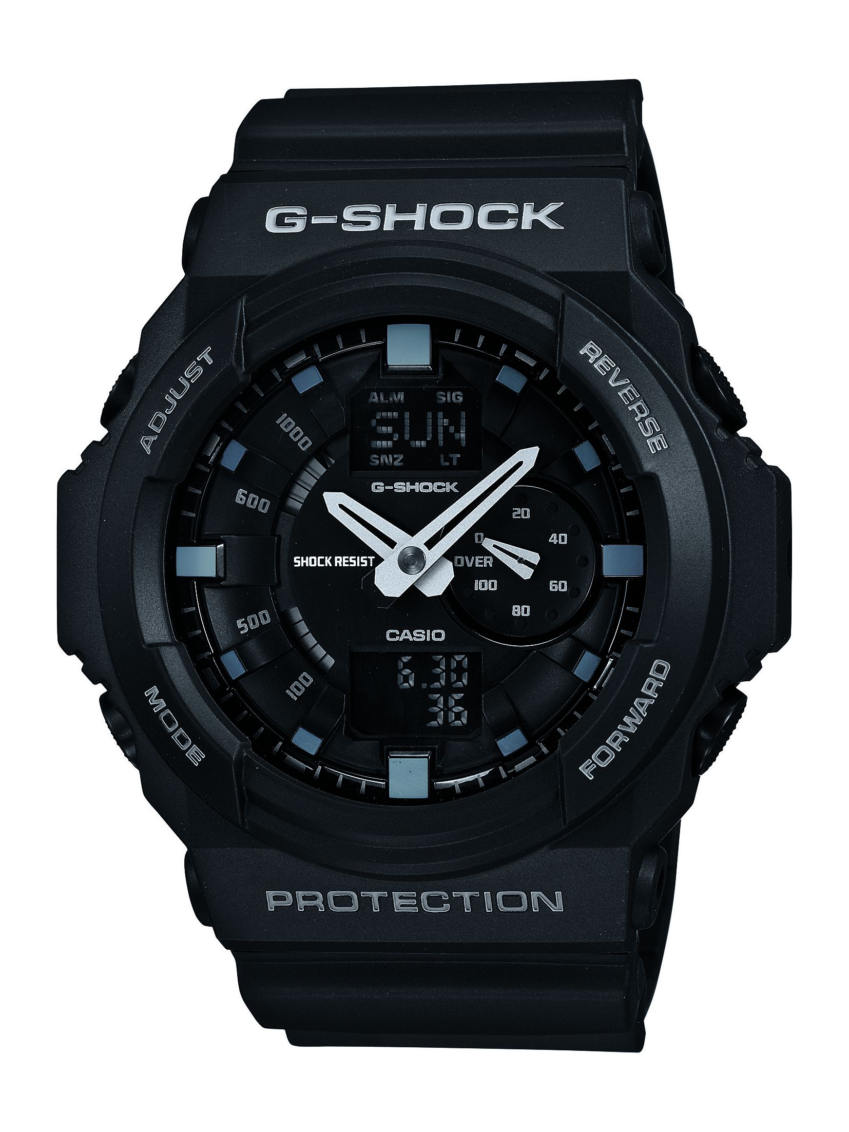 G-Shock GA-150-1AER black sports mens watch