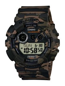 GD-120CM-5ER Unisex Camo Strap Watch
