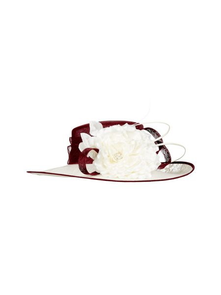 Jacques Vert Floral detailed occasion hat