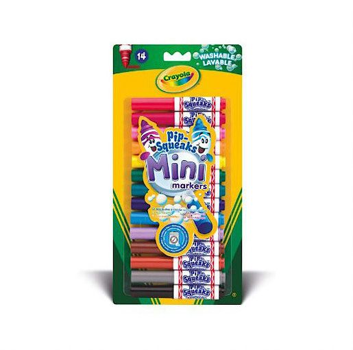 Crayola 14 pip-sqeaks mini markers