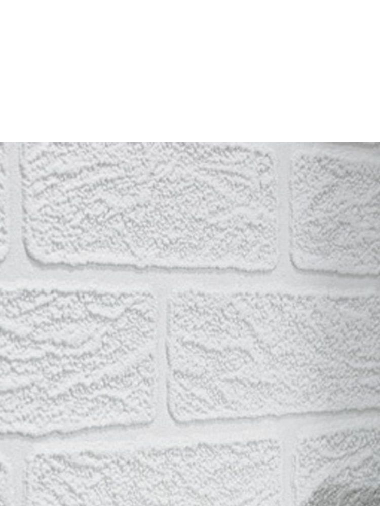 White brick wallpaper