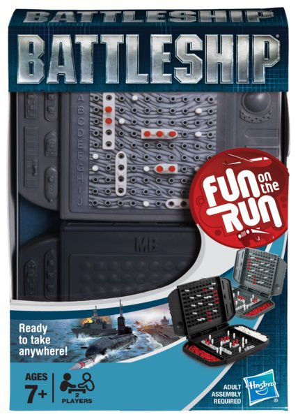 Battleship Travel Game