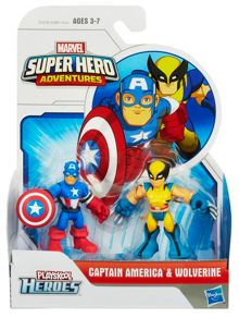 Captain America & Wolverine 2 pack