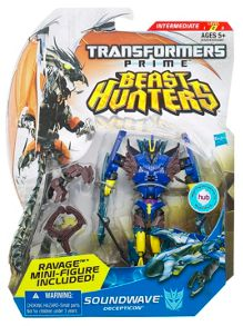Transformers Prime Beast Hunters Soundwave