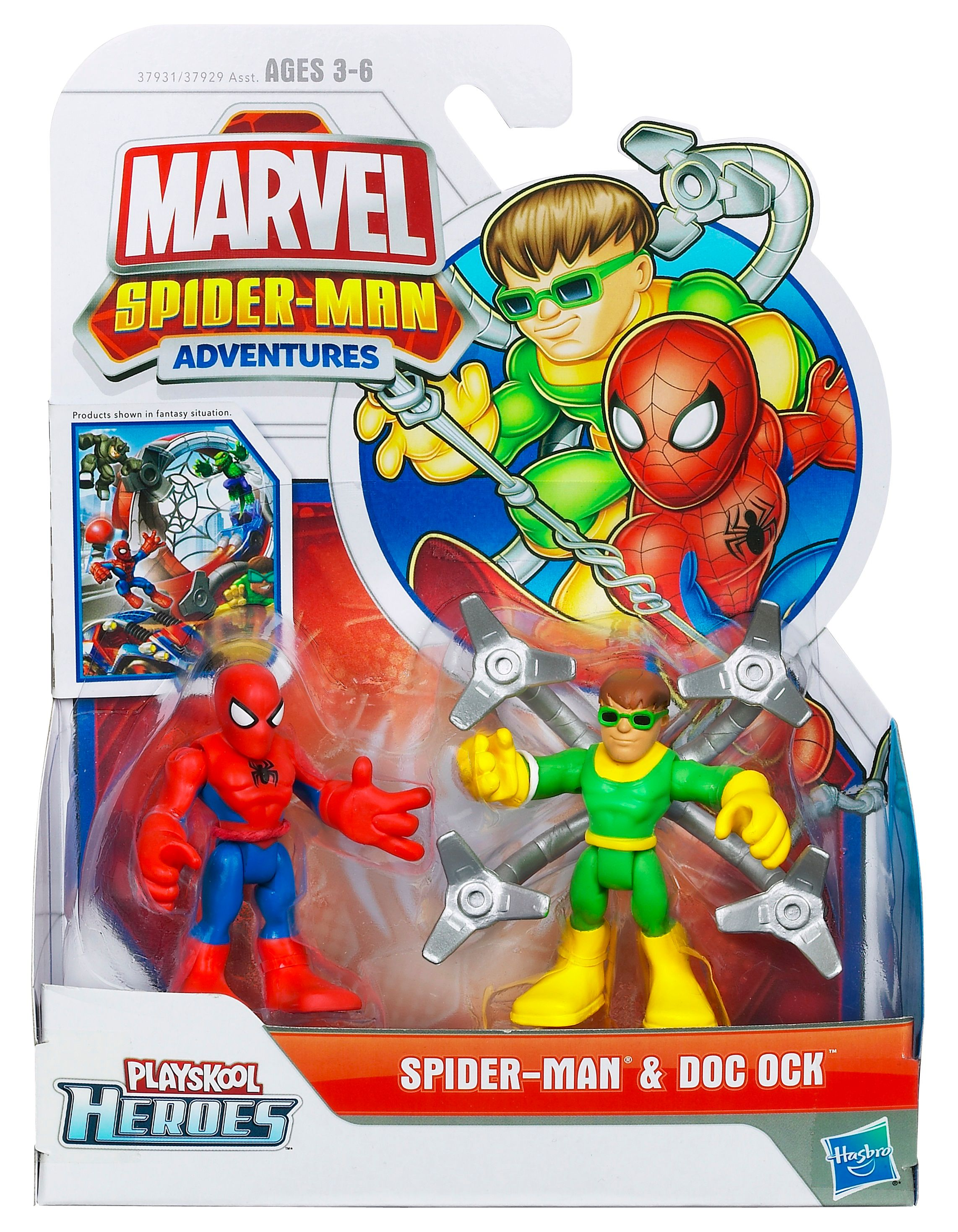 Spiderman & Doc Ock Playskool Heroes
