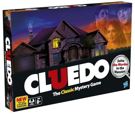 Hasbro Cludeo The Classic Mystery Game