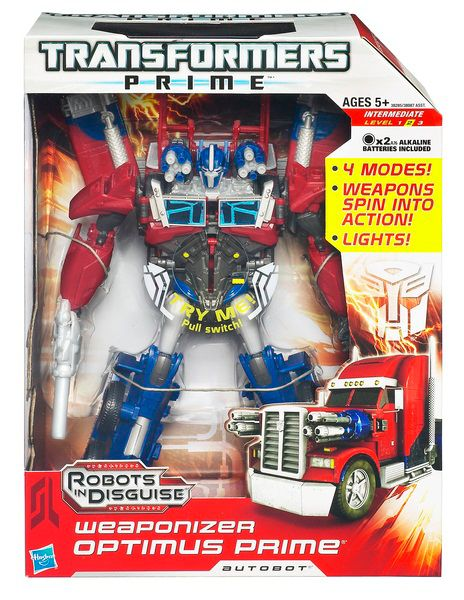 Optimus Prime Weaponizer Autobot