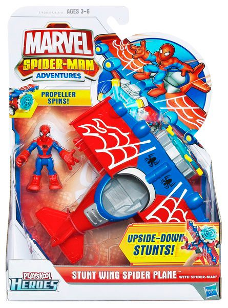 Spiderman Vehicle & Figure