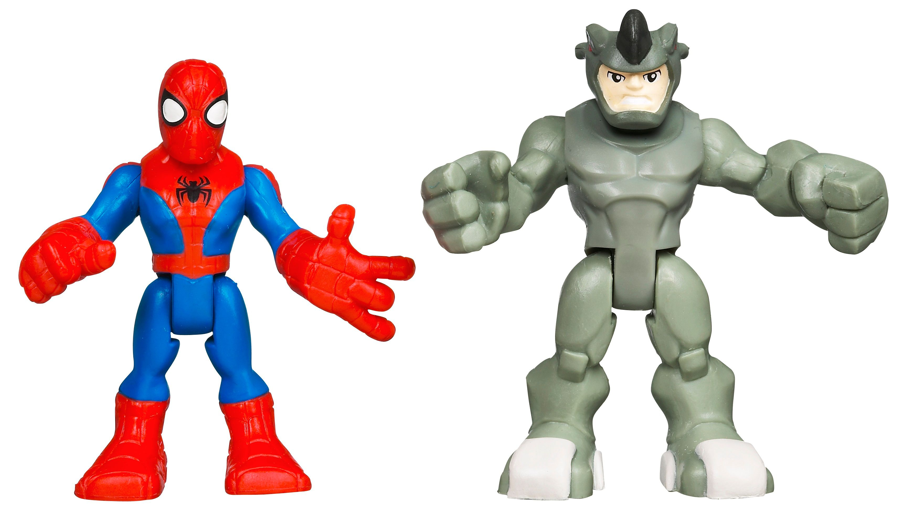 Spiderman & Rhino Playskool Heroes