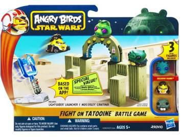 Angry Birds Star wars strike back battle packs