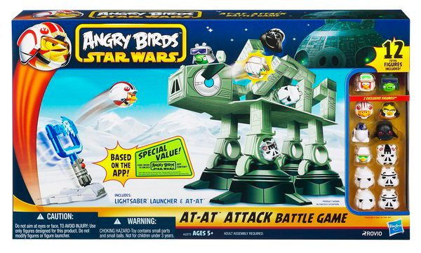 Star Wars Angry Birds AT AT Attack