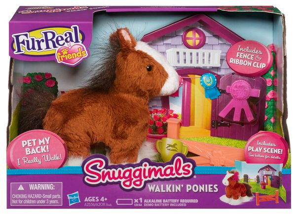 Fur Real Whisper Moon Walkin Ponies NA