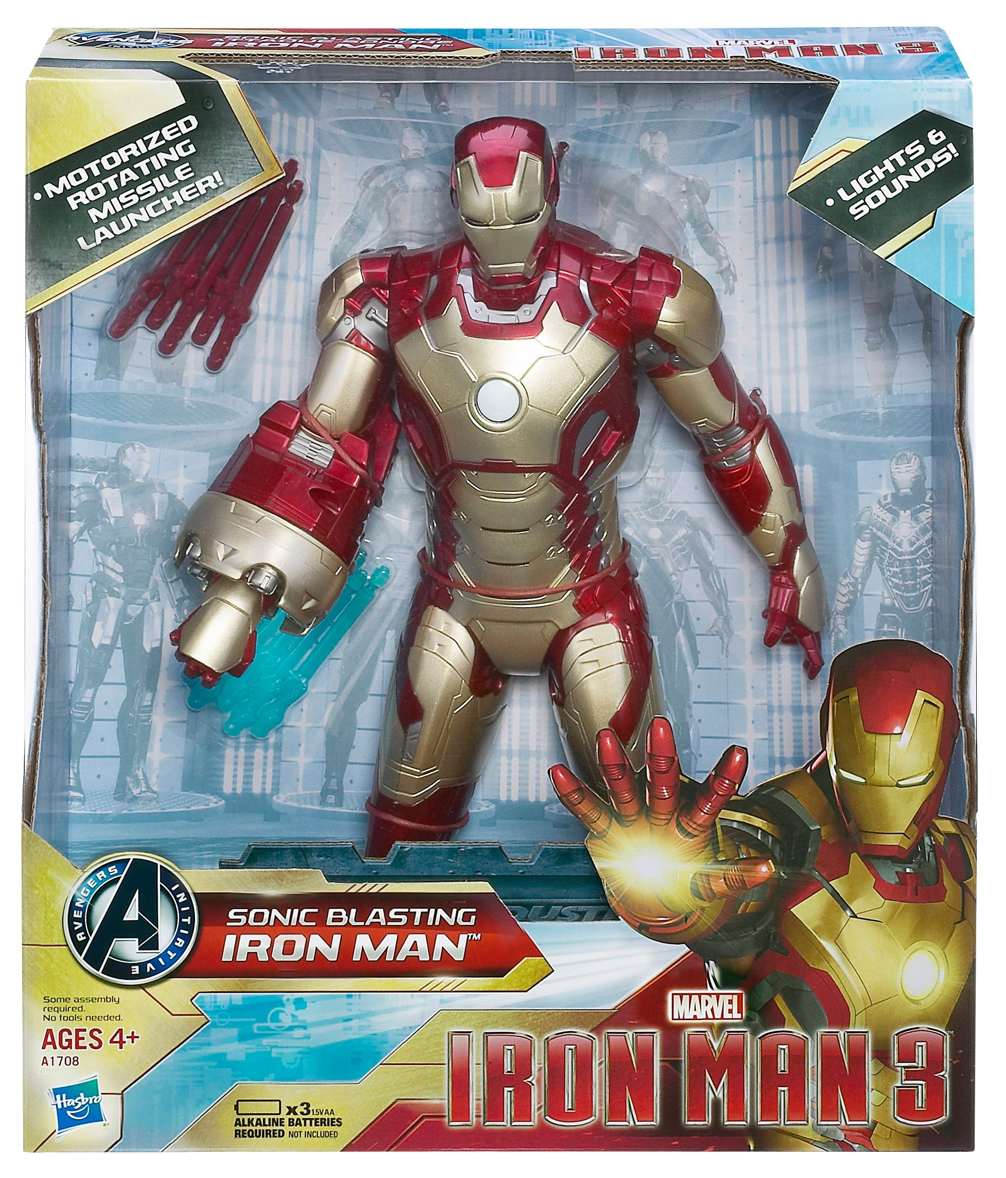 Iron Man 3 15 Sonic Blasting Figure