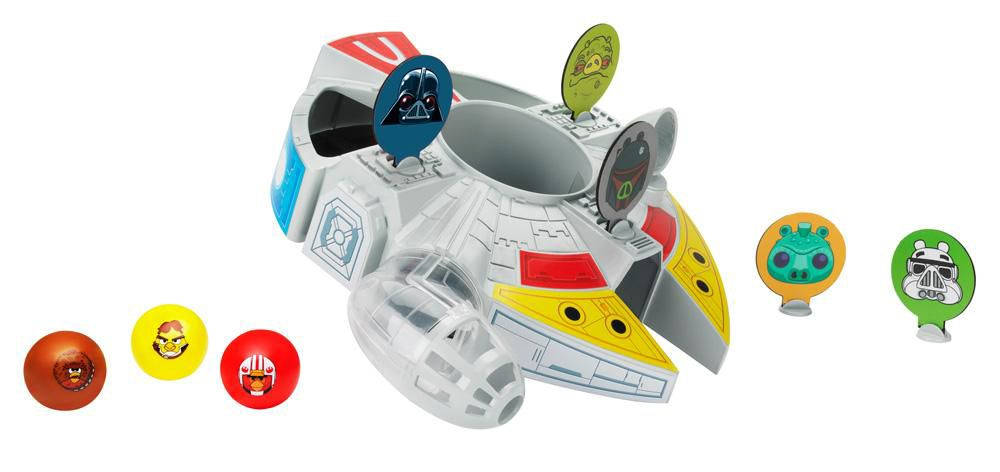 Star Wars Angry Birds Millennium Falcon