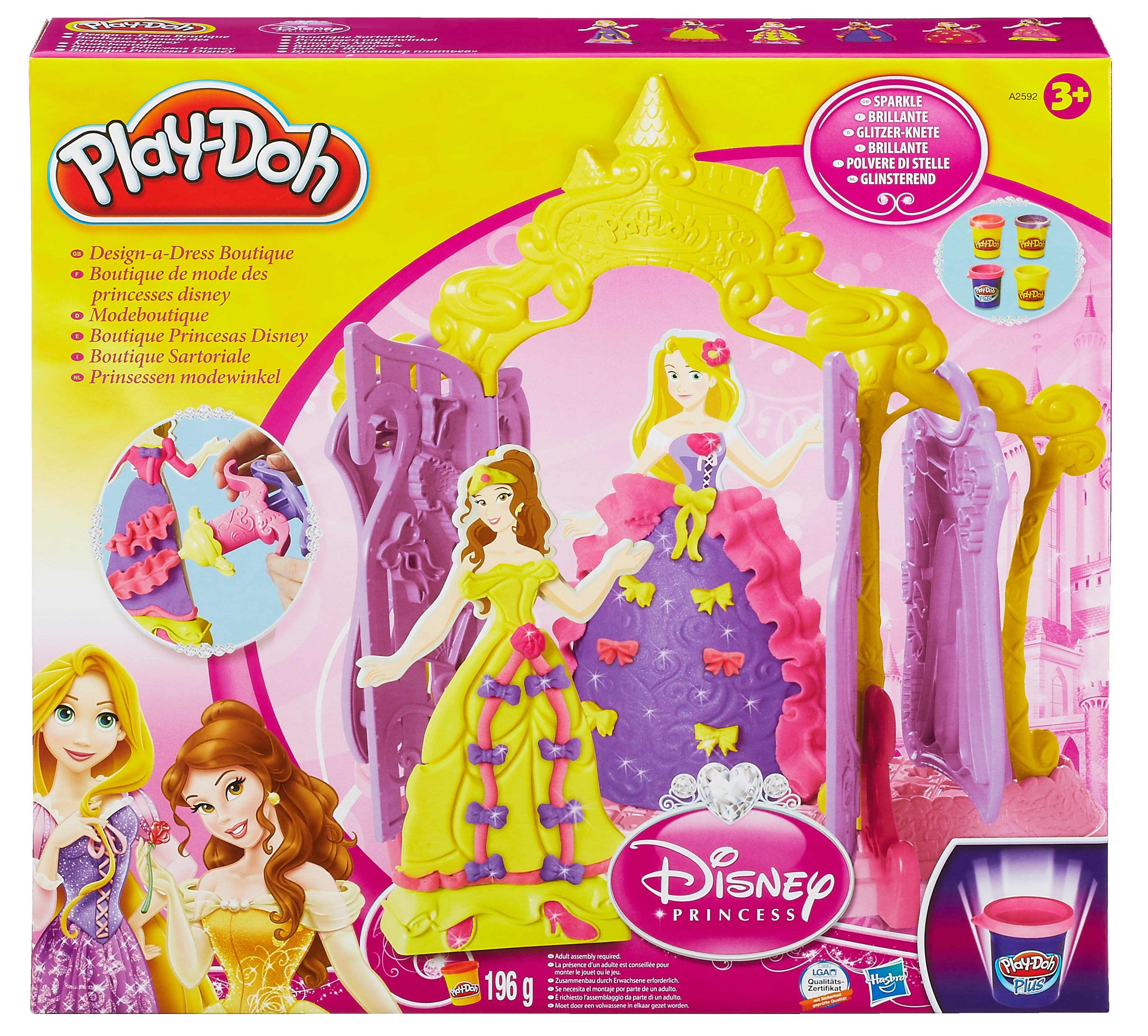 Play Doh Design A Dress Boutique