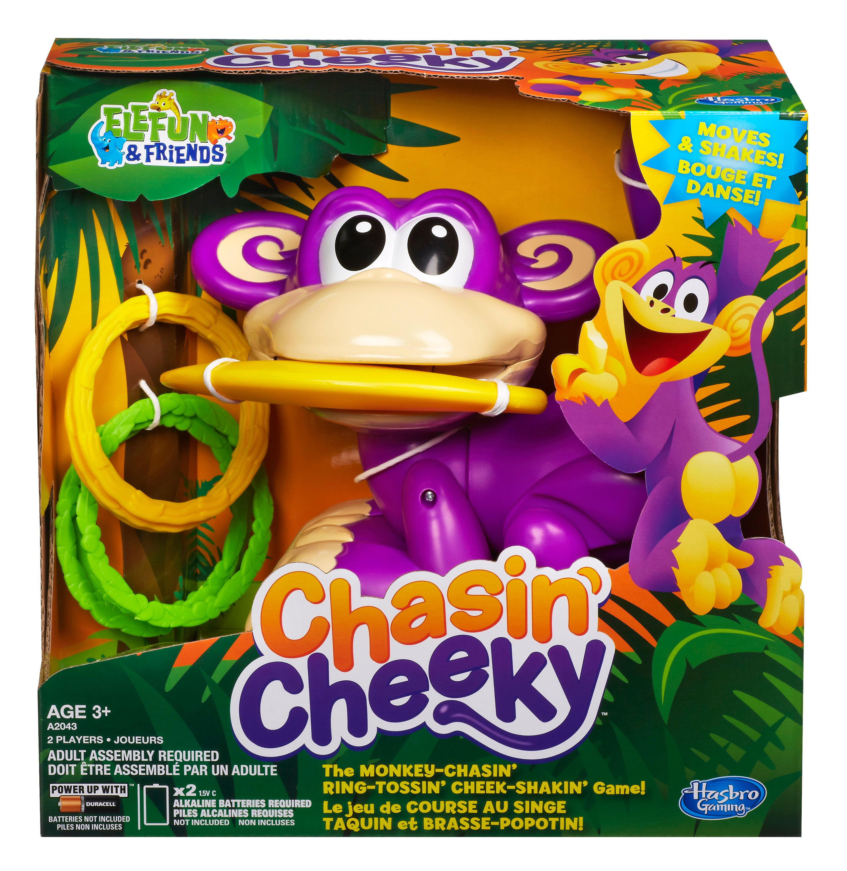 Elefun & friends chasin cheeky game