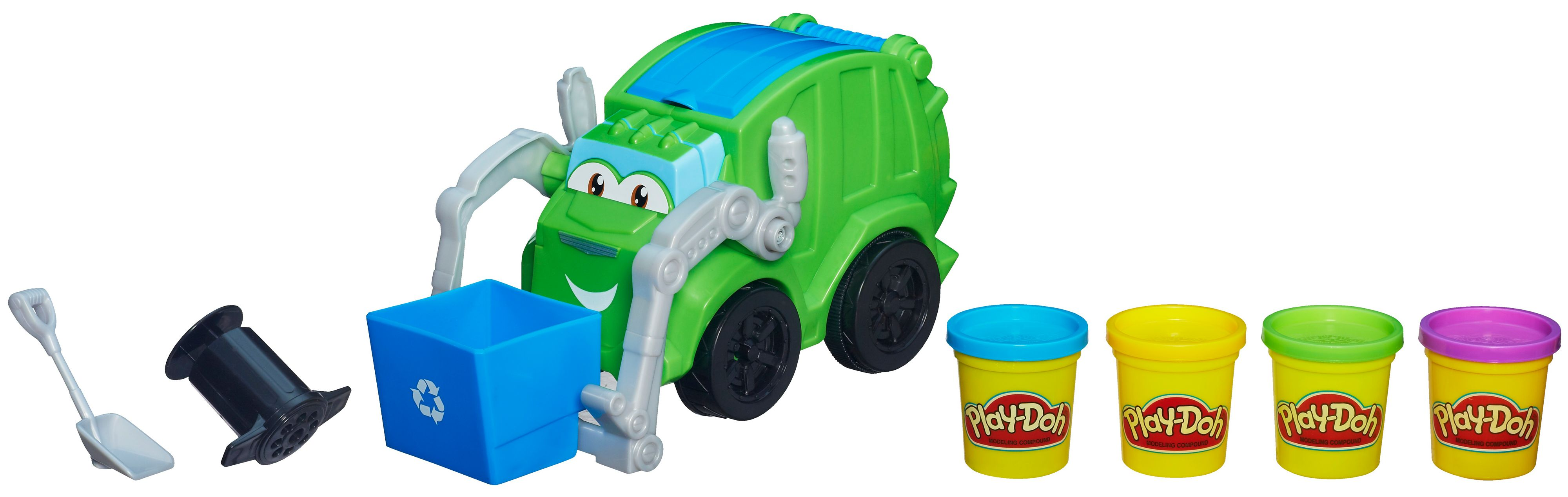 Play doh rumblin recyclin rowdy