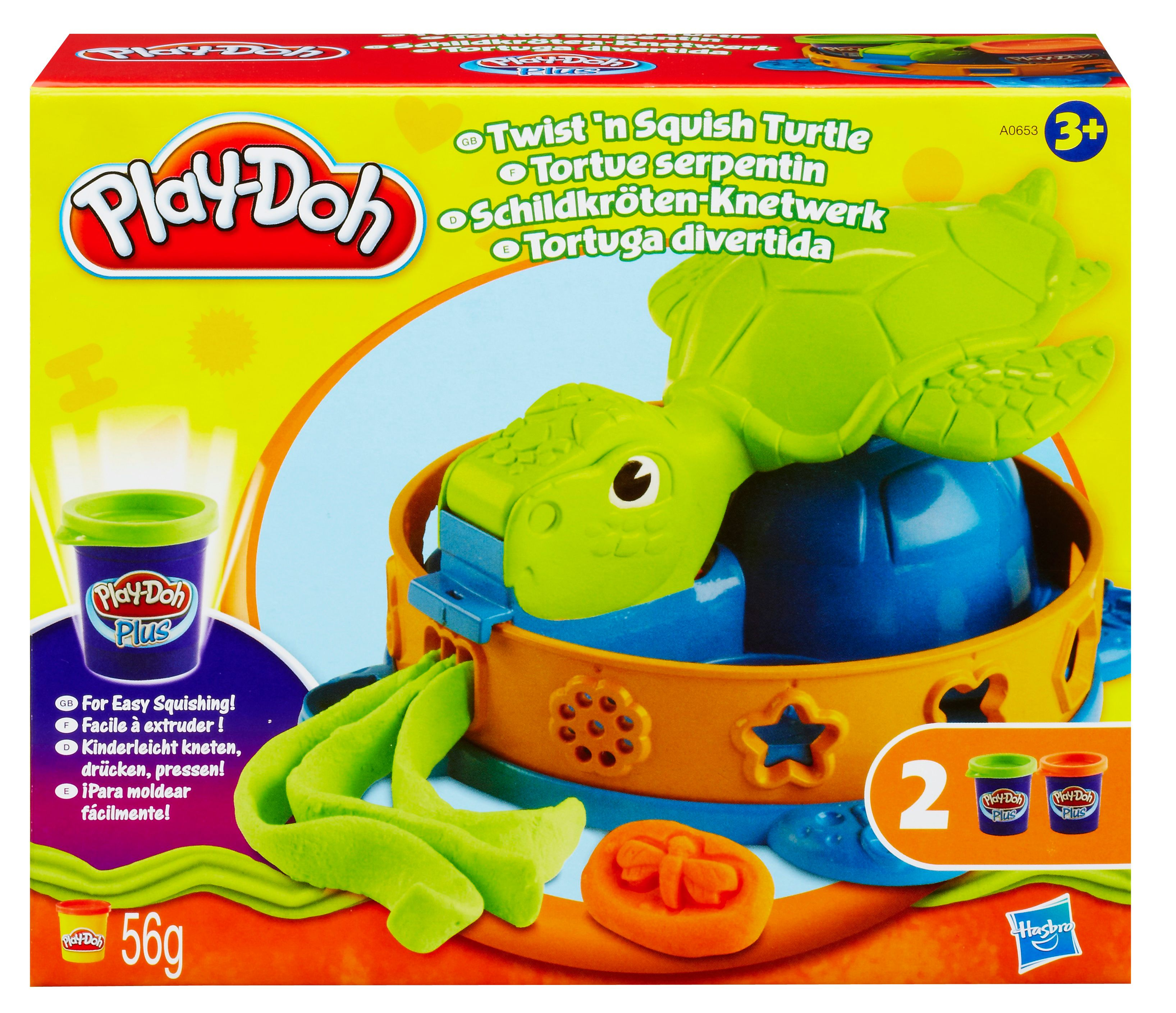Play Doh Twist N Squish Turtle