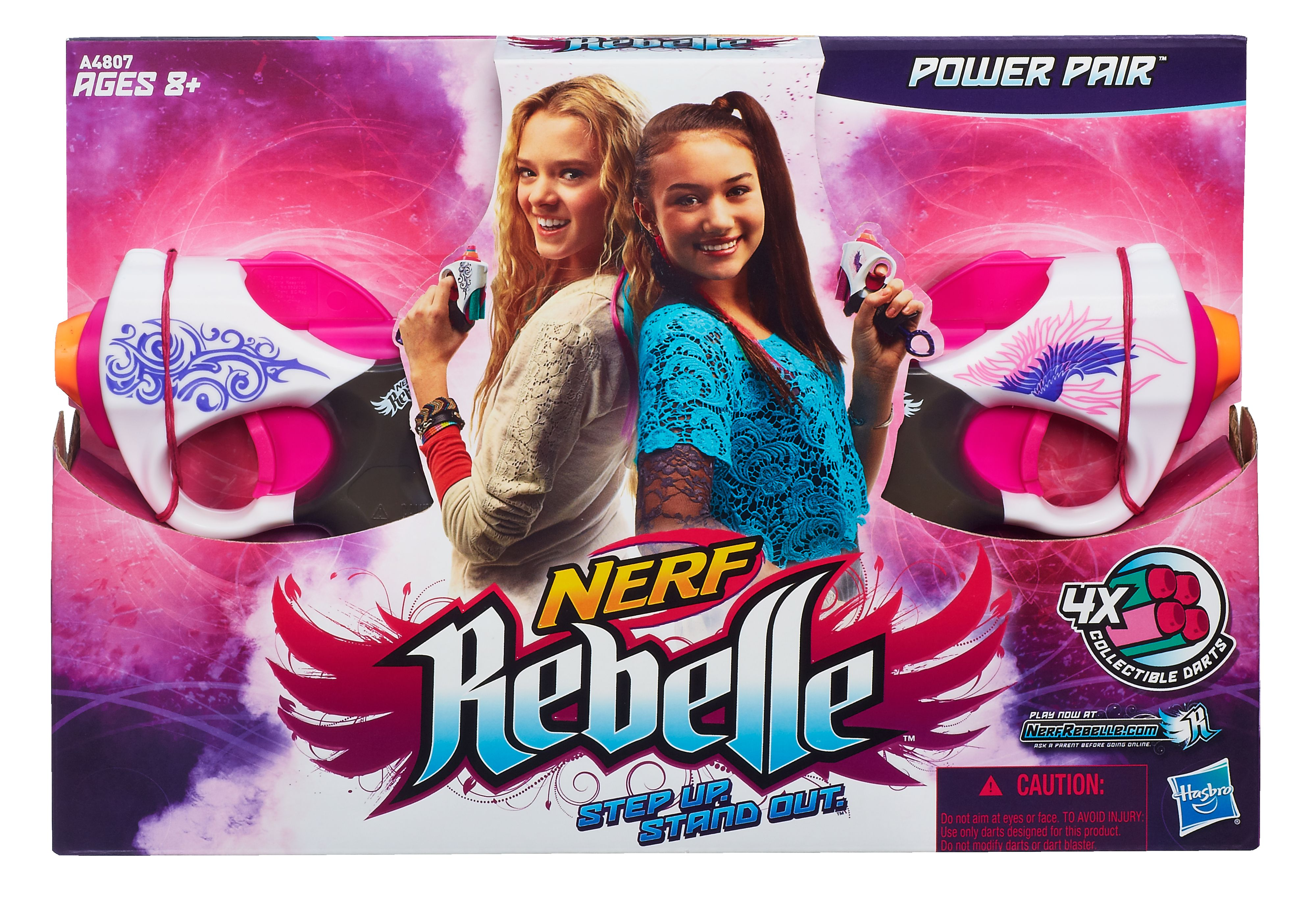 Nerf Rebelle Power Pair Pack Duo - Friends Blaste