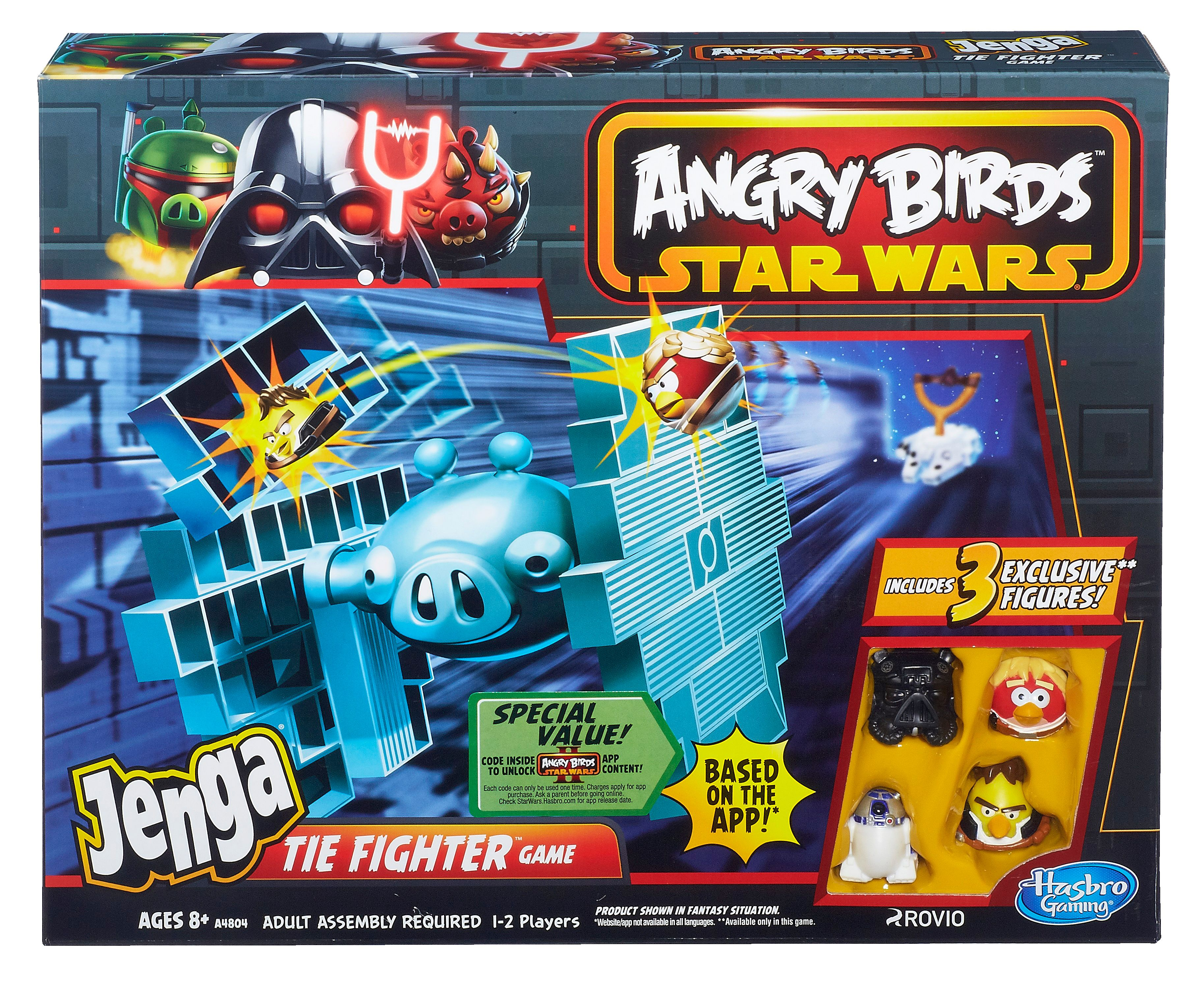 Star Wars Angry Birds Tie Fighter