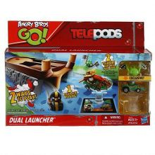 Angry Birds Angry birds go! telepods dual launcher