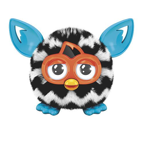 Furby Furblings Creature Zig Zag Black and White