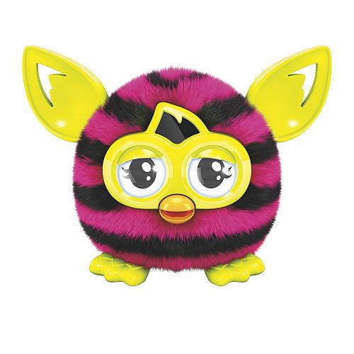 Furby Furblings Creature Stripes Pink & Black