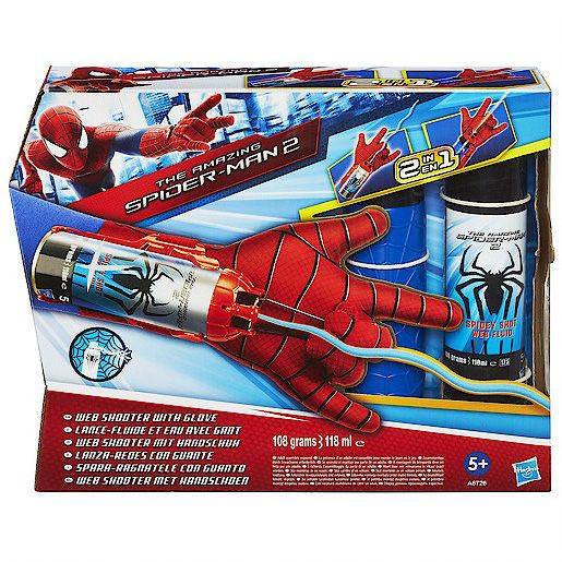 Amazing spider-man 2 web shooter with glove