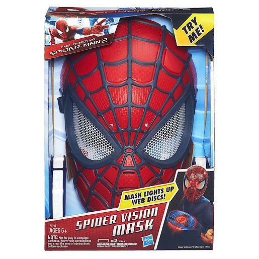 Amazing spider-man 2 - spider vision mask