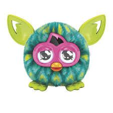 Furby Furblings Creature Peacock Green & Yellow