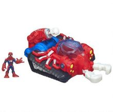Web Strike Tank with Spider-Man Figure