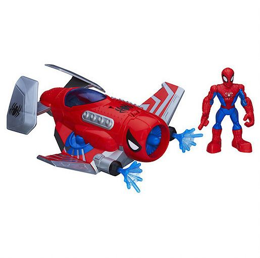 Super Hero Spider Strike Plane