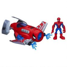 Playskool Super Hero Spider Strike Plane