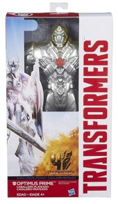 Silver Coloured Optimus Prime Figure