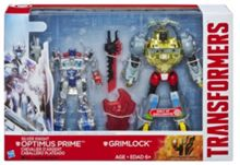 Transformers Silver Night Optimus Prime & Grimlock