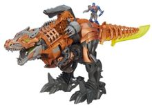 Transformers Age of extinction chomp and stomp figure
