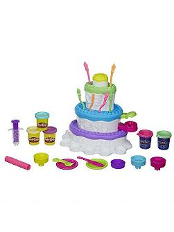 Play-doh cake mountain playset