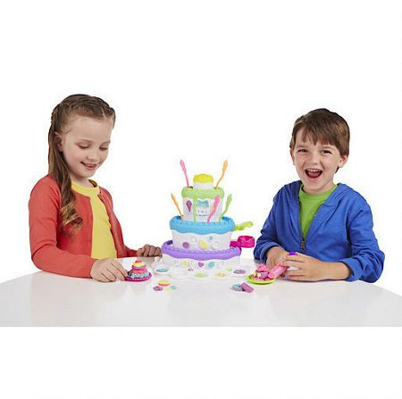 Play Doh Play-doh cake mountain playset