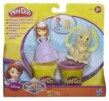 Play Doh Disney princess sofia & clover set