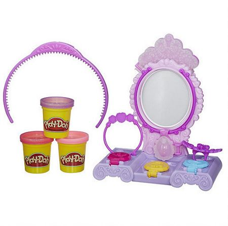 Play Doh Amulet and jewels vanity set