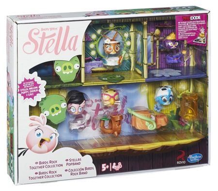 Angry Birds Stella Telepods Together Collection
